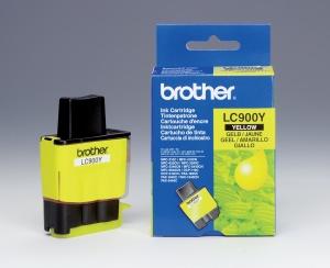 Inkoustová náplň žlutá LC900Y