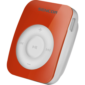 MP3 přehrávač Sencor SFP 1360 RD 4GB červený