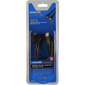 Kabel Sencor SAV 176-015 HDMI A-A 90st.V1.4 PG