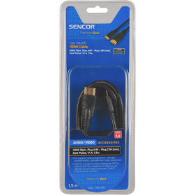 Kabel Sencor SAV 174-015 HDMI A-C mini V1.4 PG