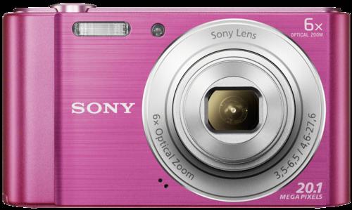 Fotoaparát Sony DSC W810P růžový