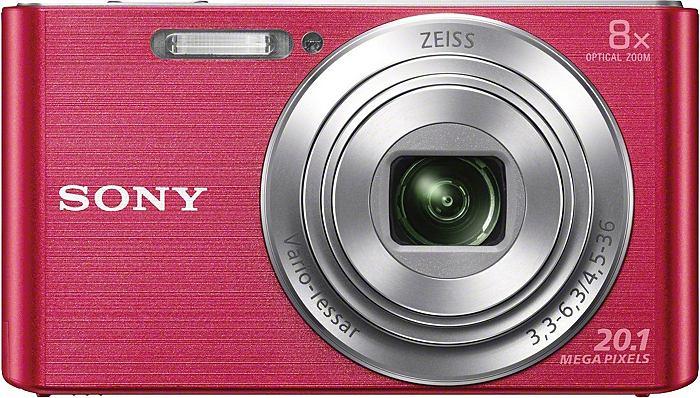 Fotoaparát Sony DSC-W830P růžový