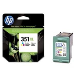 HP CB338EE Ink Cart No.351XL pro OJ 5780, 5785, 14ml, Color