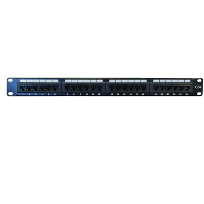 UTP Patchpanel, Cat.5e, 24-Port
