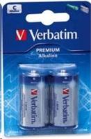 VERBATIM baterie C 1,5V Alkalické blister 2pck/BAL