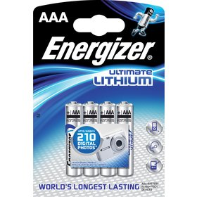 1x4 ENERGIZER Ultimate Lithium Micro AAA LR 03 1,5V