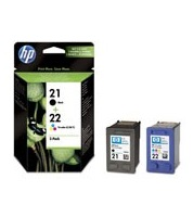 HP SD 367 AE Ink Cartridges No. 21 and 22