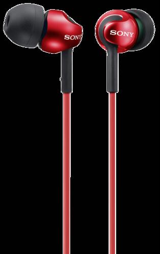 Sony MDR-EX110LPR cervena