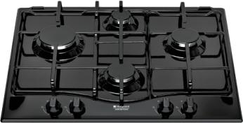 Varná deska plyn. Hotpoint PC 640 (BK)/HA