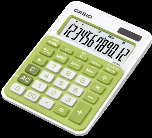 Casio MS-20NC-GN green