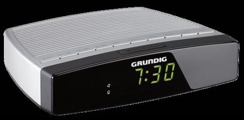 Grundig Sonoclock 600 stribrna