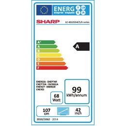 LED televize Sharp LC42LD265E