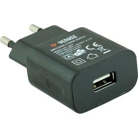 YAC 2003BK USB Nabíječka 1000mA YENKEE