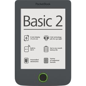 614 Basic 2 6'' e-book grey POCKETBOOK