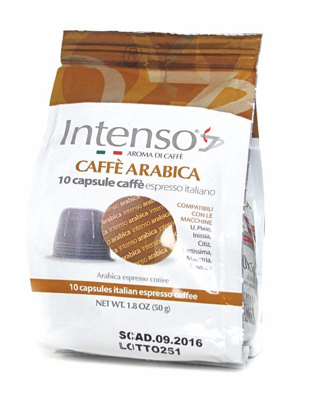 Kapsle Intenso Arabica 10x Nespresso
