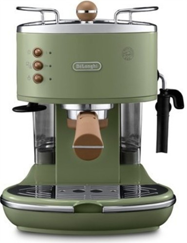DeLonghi ECOV 311.GR Icona Vintage Espressomaschine Grün