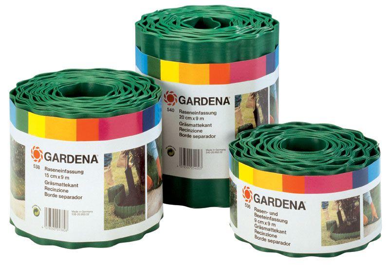 Obruba trávníku gardena, 20 cm výška / 9 m délka