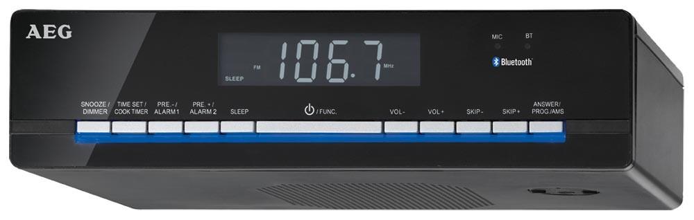 Kuchyňské rádio AEG KRC 4361 BT černé