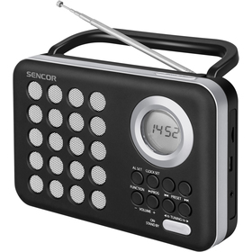 SRD 220 BS RÁDIO S USB/MP3 SENCOR