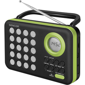 SRD 220 BGN RÁDIO S USB/MP3 SENCOR