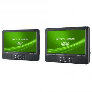 DVD přehrávač Muse M 990 s 2 obrazovkami