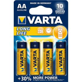 LR6 4BP AA Longlife Alk VARTA