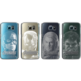 CLEAR COVER AVENGERS S6 SAMSUNG