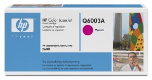 HP Q6003A Toner 124A pro CLJ1600,2600,2605 (2000str), Magenta