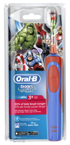 Braun Oral-B Stages Power Avengers cls