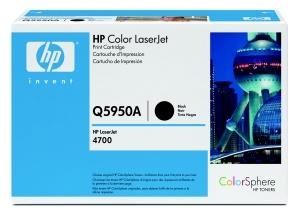 hp color laserjet černý toner, Q5950A
