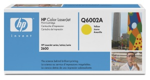 HP Q6002A Toner 124A pro CLJ1600,2600,2605 (2000str), Yellow