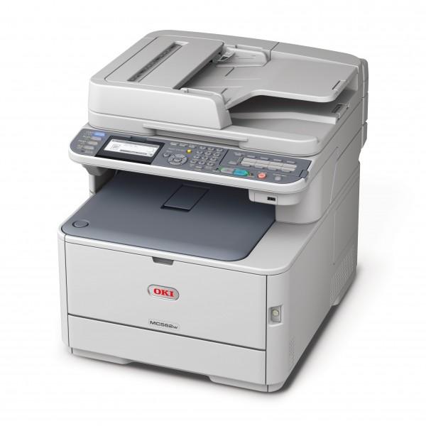 Barevná laserová tiskárna OKI MC562 dnw