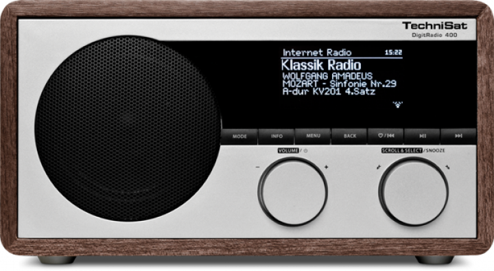 Bezdrátové bluetooth rádio TechniSat Digit Radio 400