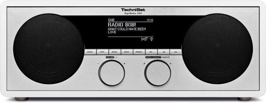 Radiopřijímač TechniSat Digit 450 DAB bílé