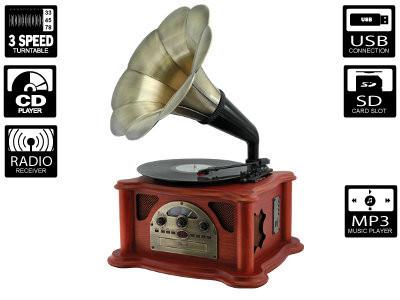 Gramfon RICATECH RMC350 (hifi retro)