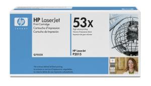 HP Q7553X Toner 53X pro LJ P2015 , M2727, (7000 stran), Black