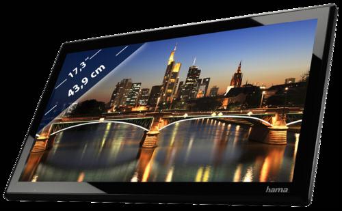 Hama DPF-173SLPFHD Slimline Full HD HDMI 43,9cm (17,3 )