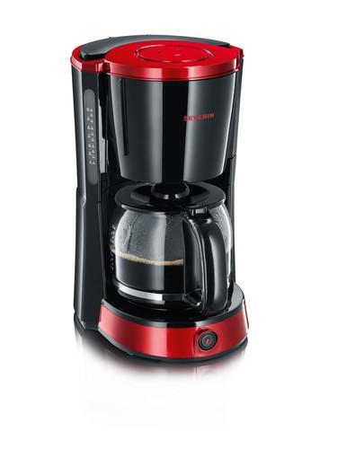 """KA 4492 kávovar """"SELECT"""" černo-červený"""