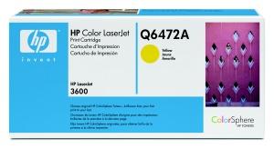 HP Q6472A Toner 502A pro CLJ 3600, (4000str), Yellow