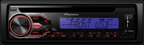 Autorádio Pioneer DEH-1800UBB modra