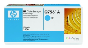 HP Toner cartridge for CLJ 3000, cyan
