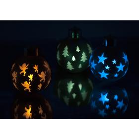 RXL 54 3LED GLASS BALLS RGB RC RETLUX