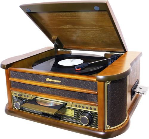 HIF-1899TUMPK Retro věž,gramo,CD,USB,kaz