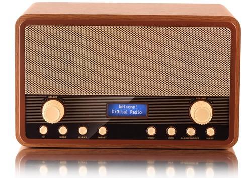 HRA-1300DAB+ Stolní radiopřij.DAB+FM PLL