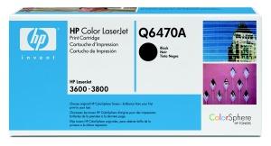 HP Q6470A Toner 501A pro CLJ 3600/3800, (6000str), Black