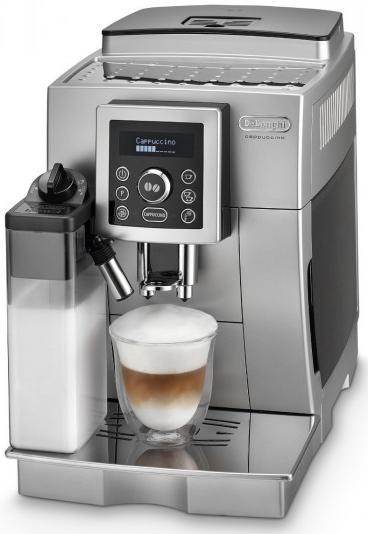 Kávovar DeLonghi ECAM 23.466.S, stříbrný