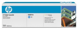 HP Color LaserJet CB381A Cyan Print Cartridge with ColorSphere Toner