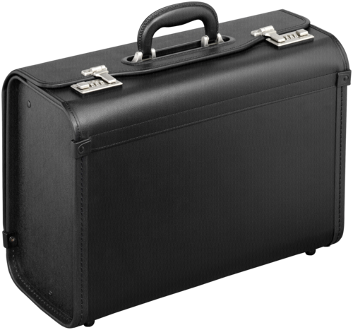 B&W Tool Case Type Gamma black removable central divider