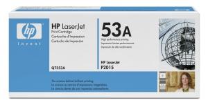 HP Q7553A Toner 53A pro LJ P2015, M2727, (3000str), Black
