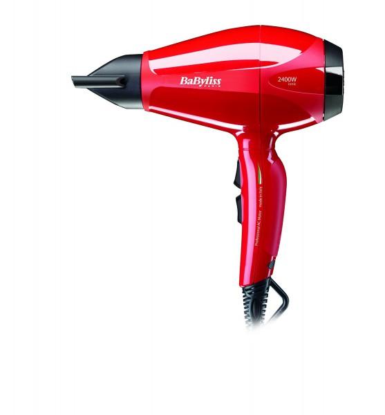 Vysoušeč vlasů BaByliss 6615E pro Intense AC červený